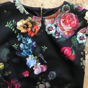 Ted Baker London Dresses - Ted baker Cathina pencil dress oil painting print